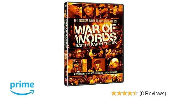 War of Words - Battle Rap in the UK [DVD]: Amazon co uk: Ice