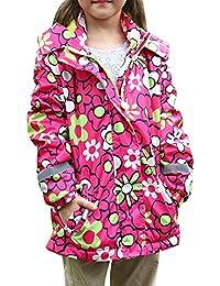 Dr.mama 2016 nueva llegada ropa moda con sombrero de niñas abrigo de algodón calido grueso ropa de invierno otoño para niñas