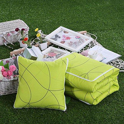ZHLONG Multi-funzione Throw Pillow, Quilt (stretta 40 * 40 cm, aperto 100 * 150 cm) , 1 , 40*40 open 150*100cm