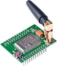 Robobulls A6 GSM GPRS Module Quad-Band with Antenna for Arduino