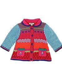 Manteau tricot polaire - Fille 6 mois