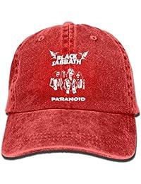 Gxdchfj Sombrero de Vaquero para Adultos Negro Sabbath Gorra de béisbol  Ajustable Atlético Personalizado Personalizado Sombrero d60ea9c6489