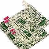 "Goli Soda Set Of 4 Reusable Cotton Produce Bags / Fruit Vegetable Bags / Fridge Bags / Veggie Bag - Go Green - Small 2 (11"" X 8"") + Big 2 (12"" X 10"")"