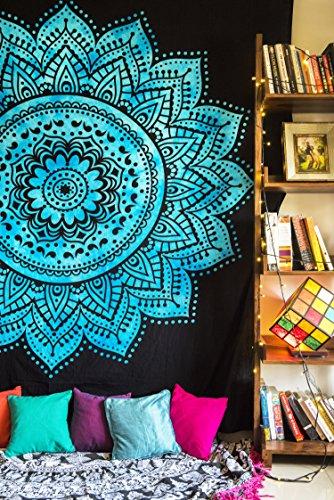 folkulture Mandala tapiz, Hippie colgante de pared, indio bohemio Colc
