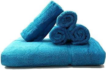 Artemis Soft Touch Towel Set of 5 (Blue)