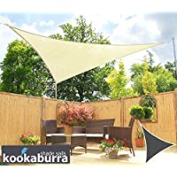 Toldos Vela Kookaburra Marfil Triangular 3.6m (Transpirable)