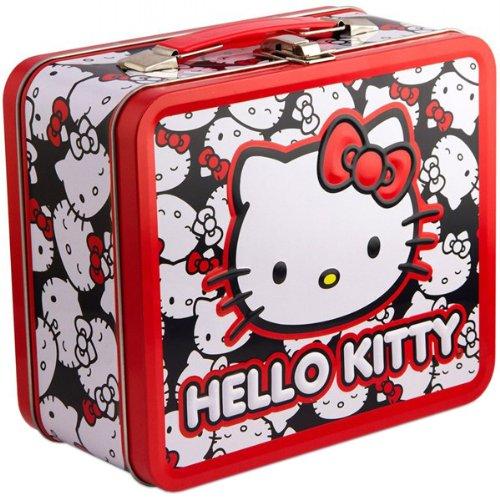 Hello Kitty Lunch Box CUTE FACES