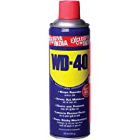 Pidilite WD-40, Multipurpose Spray, 420ml Rust Remover, Lubricant, Stain Remover, Degreaser, and Cleaning Agent, (341g)