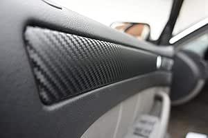 A6 4f Original 3d Carbon Zierleisten Set 15 Teiliges Folienset Aus 3d Carbon Schwarz Folie Für Den Innenraum Ihres Fahrzeuges A6 4f Auto