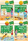 Pixi Wissen: Pixi Wissen 4er-Set: Basiswissen Grundschule (4x1 Exemplar)