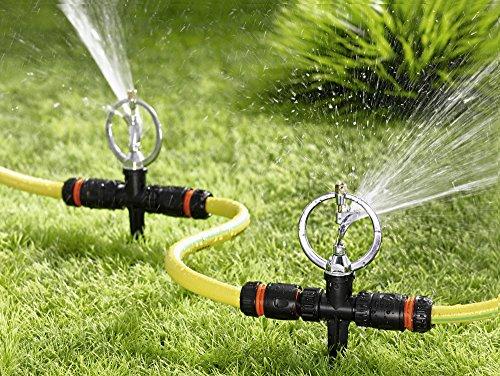 UPP Products Rasensprenger 360° / Rasensprenger / Sprinkler / Rasensprenkler / Regner