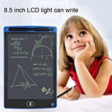 Kawachi Digital Tablets Study Board Portable 8.5 Inch LCD Electronic Writing Tablet Digital Drawing Pad Tables for Kids Oldman