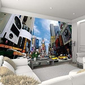 image g ante tapisser times square maximage mur cuisine maison. Black Bedroom Furniture Sets. Home Design Ideas