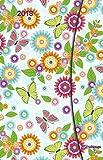 Flower Fantasy 2018 Magneto Diary small - Taschenkalender, Buchkalender, Kunstkalender 2018 - 10 x 15 cm