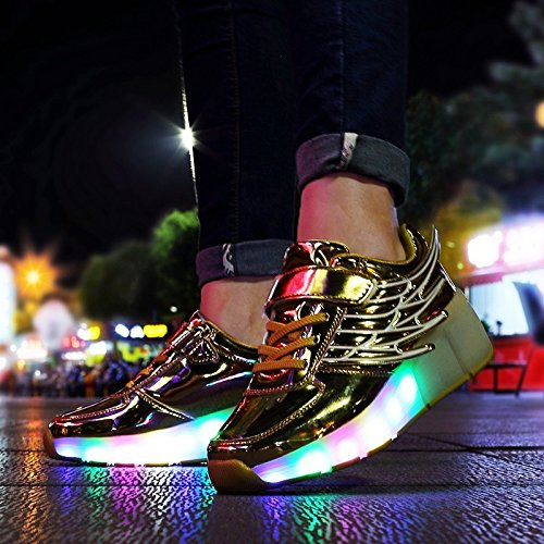 JDream Schlittschuhe Sneakers Design Dance Boot Golden