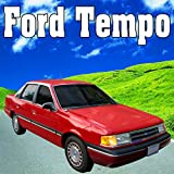 Ford Tempo, Internal Perspective: Seat Adjustment Forward Halfway