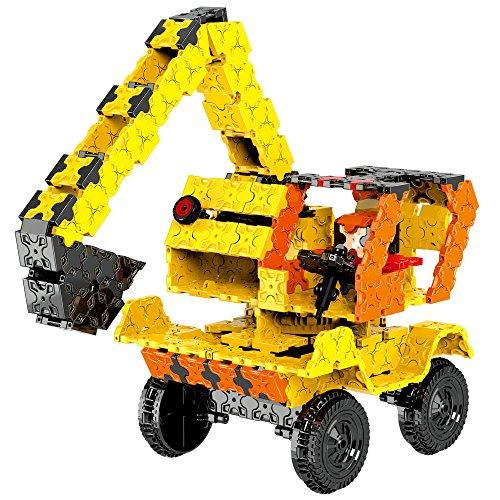Weofferwhatyouwant costruzione ruspa escavatore da costruire e molto altro. flatblocks è un set costruzioni che sviluppa ingegno e mente logica e. livello 4, 8 anni in sù