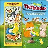 Puzzlebuch - Meine Tierkinder: Mit 10 Puzzleteilen zum Spielen - Paola Migliari