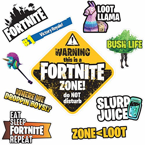 Fortnite Wall Stickers Pack Gift Idea