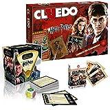Winning Moves Harry Potter Spiele Bundle Brettspiel Gesellschaftsspiel Trivial Pursuit, Cluedo und Kartenspiel