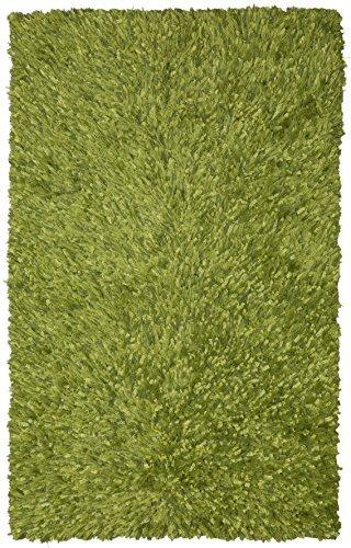 Shag Green Rug Rug (Green Shimmer Shag (4'x6') Rug by Shagadelic)