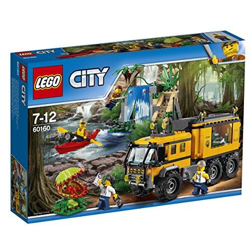 Lego City 60160 - Laboratorio mobile nella giungla