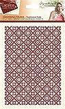 Sara Firma Colección escandinavo–Carpeta de Navidad tradicional folk, transparente