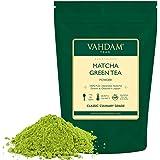 VAHDAM, polvo de té verde Matcha (50 g, 25 tazas), polvo de Matcha japonés puro y sin mezclar 100% certificado | 137x Anti-OX