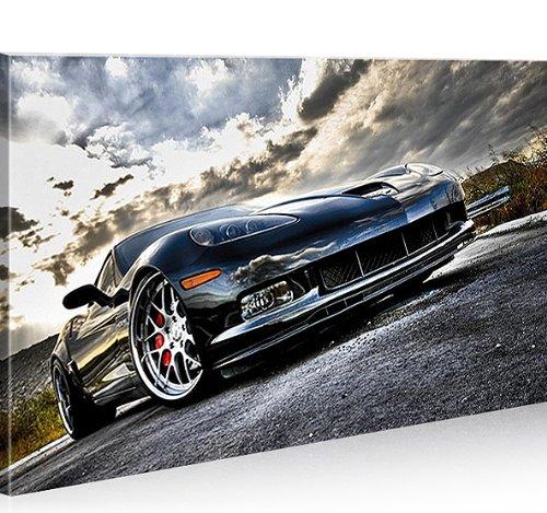 bild-bilder-auf-leinwand-corvette-1p-chevrolet-xxl-poster-leinwandbild-wandbild-dekoartikel-wohnzimm