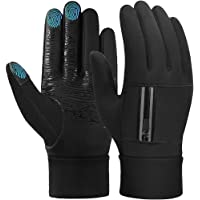 Winter Cycling Running Gloves Windproof - Men Women Touch Screen Anti-slip Warm Outdoor Thermal Sports Glove with…