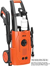 American Micronic- AMI-PW1-1500WDx- Imported 120 Bar, 1500 Watts Pressure Washer (Red/Black)