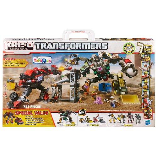 Hasbro A1266 - Kre-O Transformers - Autobot Assault Devastator [UK Import]