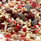 ProMix: Very Finely Chopped Mixed Nuts & Seeds with Dried Fruits (750g) Healthy Trail Mix, Gluten Free, Vegan (Strawberry & Raspberry)