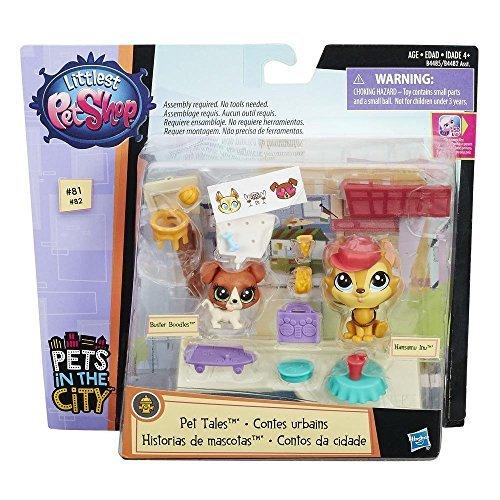 Hasbro B4485 Littlest Shop Pet Tales - Buster und Hansamu, Spielzeug
