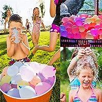 WXCL 500 pezzi di Divertimento Palloncini da battaglia d'acqua Palloncini in Lattice Palloncini da Festa Palline da Festa Bambini Giocattoli per Bambini Palloncini da sposa, 500 pezzi