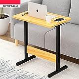 YNN Tragbare Nachttisch Laptop Schreibtisch Schlafzimmer Bett Schreibtisch Lift Tabelle Faul Tisch Frühstück Tabelle 60 * 40 * 68 cm (Farbe : C)