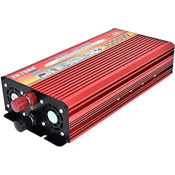Majome Convertidor de inversor de energía del Coche LED,Convertidor portátil del Cargador del inversor