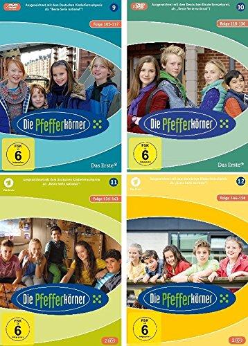 Die Pfefferkörner - Staffeln 9-12 Set (8 DVDs)