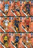 PANINI ADRENALYN XL FIFA 365 2019 Komplettset von 9 Defensive Rock – Power UP Karten