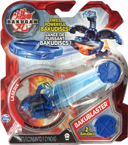 Bakugan Mechtanium Surge - BakuBlaster - Blue LASERIX