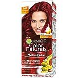 Garnier Color Naturals Crème Riche Hair Color, 765 Raspberry Red, 55ml + 50g