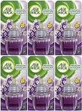 6x Airwick Duftkerzen-Nachfülleinsatz 19ml Nachfüller (Lavendel & Kamille)