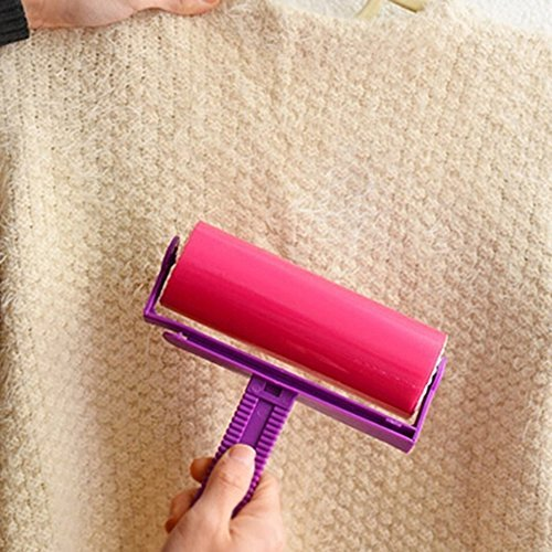 eusable Sticky Picker Hair Cleaner Lint Roller Dust Remove Brush for Clothes Pet Bed Sheet Floor Sofa by Spritech ()