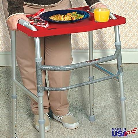 North American Health + Wellness Walker Tray - Red by Jobar International