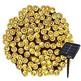 Yasolote 22M 200 LED Luci Giardino Solare Luci da Esterno Luci Stringa Solare Illuminazione per Addobbi Natalizi Catene Luminosa Decorazione Natalizie Albero di Natale Giardino Patio