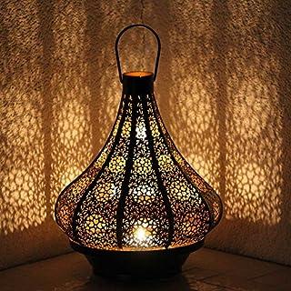 albena shop 71-5240 Jadoo oriental lantern 30cm metal black/inner gold