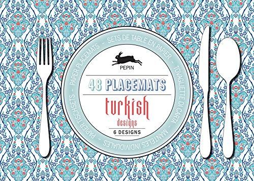 Turkish Designs: Placemat Pad: 48 placemats