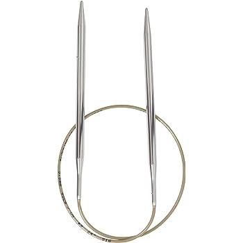 KnitPro 47102 Rundstricknadel Zing 60 cm braun 5,50 mm