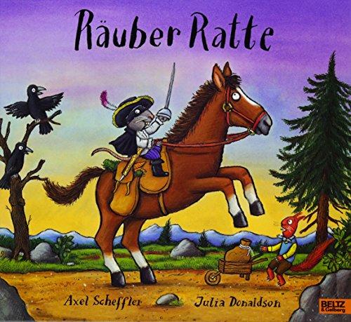 Räuber Ratte: Vierfarbiges Bilderbuch (Hohl-post)