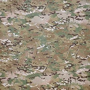 Multicam camouflage 4oz PU résistant à l'eau Camouflage Tissu utilisé par armée britannique
